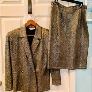 St John vintage suit